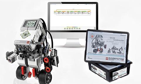 ロボットテクニカルコースで使用する教育用レゴ・マインドストームEV3
