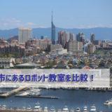 福岡市にあるロボット教室を比較!口コミ・評判・料金を徹底調査しました
